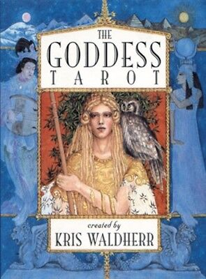 The Goddess Tarot Cards Deck by Kris Waldherr Fortune Telling Divination