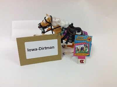 Grand Champions Quarter Horse Mare Play Set display Sample Used