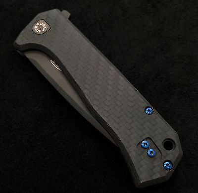 Blue Titanium Screw Set Zero Tolerance 804cf Hinderer Folder ZT0804CF - No Knife