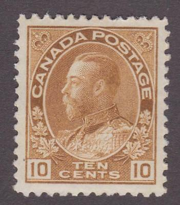 """Canada 1925 #118b King George V """"Admiral"""" Issue MH VF"""