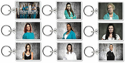 Wentworth Season 4 Classic Tv Show And Dvd Select A Character Keyrings