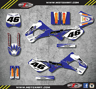Polini X3 99-04 Full custom graphic kit SHOCKWAVE style stickers / decals