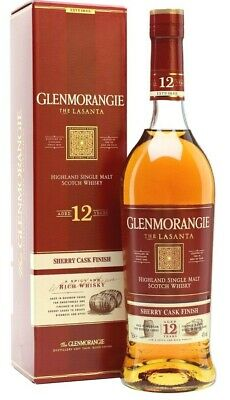Glenmorangie The Lasanta 12 Year Old Single Malt Scotch Whisky 700ml