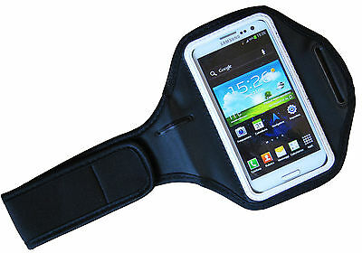 Band Arm Arm Band Mobile Phone Holder Universal Iphone 4 5 Samsung S3 Siii White