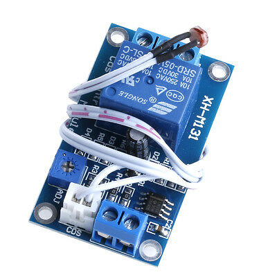 DC 5V XH-M131 Light Control Switch Photoresistor Relay Module Detection Sensor