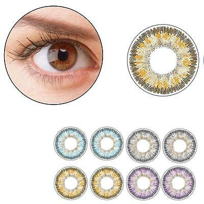 Cosplay Cosmetic Couleur Lentilles Big eye Maquillage Objectifs Lady Frozen EH