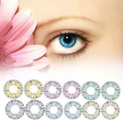 Cosplay Cosmetic Couleur Lentilles Big eye Maquillage Objectifs Ladies Trèfle EH