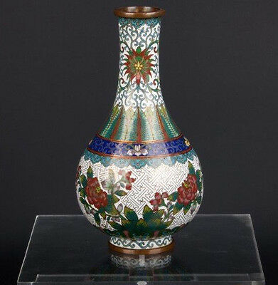 China 19./20. Jh. - A Chinese Cloisonné Bottle Vase Lao Tian Li - Cinese Chinois
