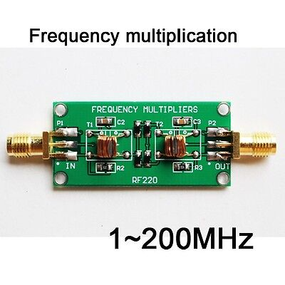 RF multiplier module Frequency multiplication 1~200MHz