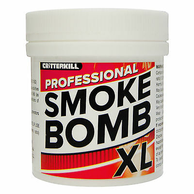 XL 15g PROFESSIONAL SMOKE BOMB FOR COCKROACHES | FUMIGATOR INSECT KILLER