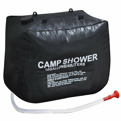 WD 40L Solar Heating Hiking Camping Camp Shower Bag Case Outdoor Washing