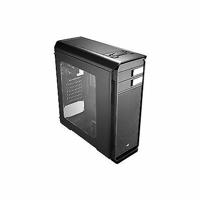 Aerocool Aero 500 Case Middle Tower Black Window Pc Tower Cabinet