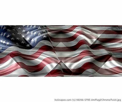 -AMERICAN FLAG 4 SIZES AVIAL VuScapes Truck Rear Window Graphic