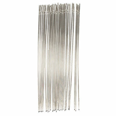 WD 25 Pcs 1.6mm Dia Metal Quilting Tailor Sewing Needles 15cm Long
