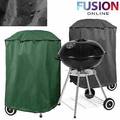 Round Bbq Cover Kettle Barbeque Covers Outdoor Waterproof Furniture Protector Uk