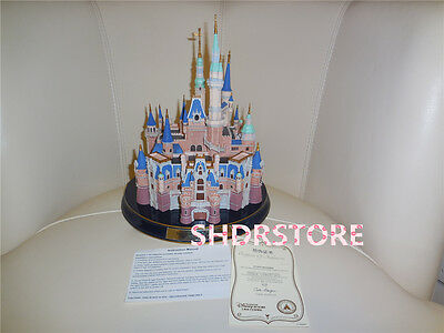 Limited Le 500 Castle Statue Shanghai Disneyland Disney Resort Art Collection
