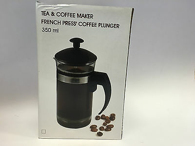 350ml Tea Coffee Maker French Coffee Plunger Press Plunger Small Capacity