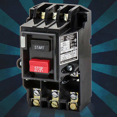 New 2510MCO3 - Schneider Electric Manual Starter