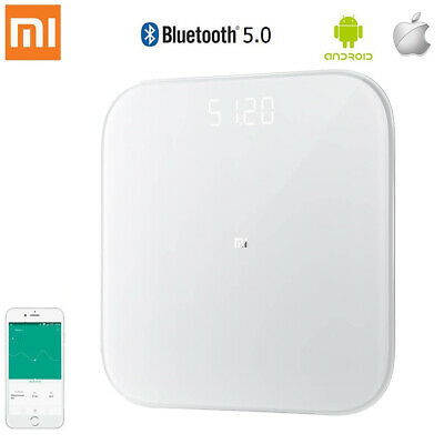 Xiaomi Smart Weight Scale White Android IOS App Bluetooth BT Electronic Body Fat
