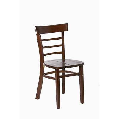 CHAIR Cafe Restaurant Pub Dining Timber Wooden Chairs Seats Swan Chocolate