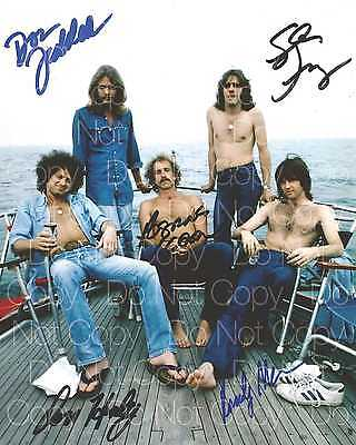The Eagles signed Frey Henley Felder 8X10 photo picture poster autograph RP