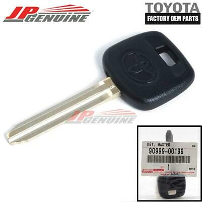 Toyota Genuine Oem Non Chip Uncut Blank Key 90999-00199 For Camry Celica **new**