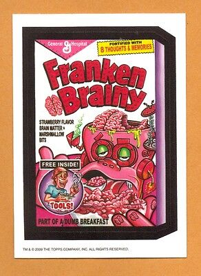 Frankenberry Franken Brainy parody spoof sticker