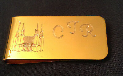 Personalized Custom Engraved Brass or Stainless Steel Money Clip Gift