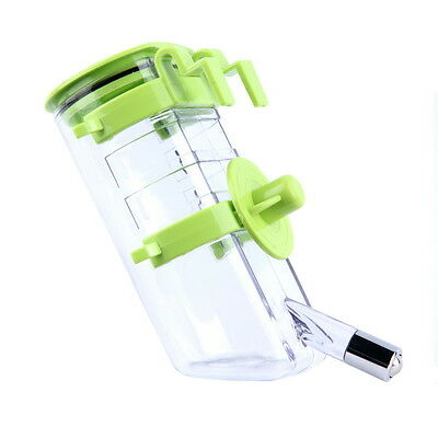 No Drip Dog Top-Fill Water Bottle Drinker Pet Water Dispenser Water Feeder 500ml