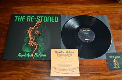 "THE RE-STONED ""Reptiles Return"" 200 NUMBERED black  copies NEW & UNPLAYED"