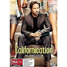 Californication : Season 3 (DVD, 3-Disc Set) R-4, NEW and sealed, Free shipping