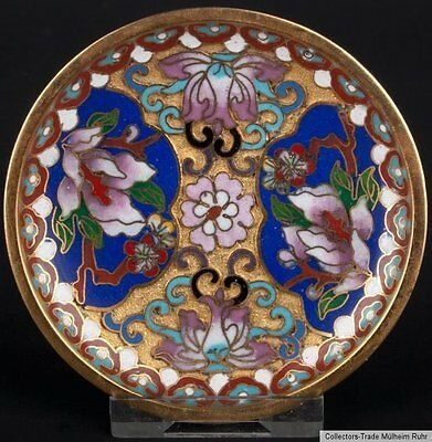 China 20. Jh. Zierteller -A Small Chinese Champleve Enamel Dish - Cinese Chinois