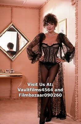 """JOAN COLLINS - 12"""" x 8"""" Colour Photographic Shoot For Adult Magazine 1983 #1937"""