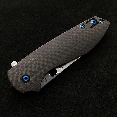 Spyderco Positron ~ (8)  Screw Set ~ Titanium blue (No Knife) C195CFP