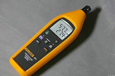 Fluke 971 HAVC Dew Point Wet Bulb Test 60 Portable Temperature Humidity Meter