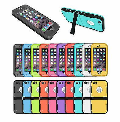 WATERPROOF SHOCKPROOF CASE COVER FOR APPLE iPHONE 6 6S [FITS LIFE PROOF CLIP]