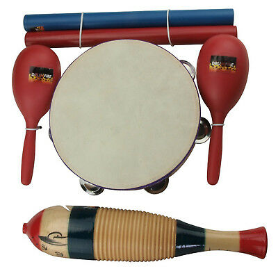 New Drumfire 4-Piece Hand Percussion Set