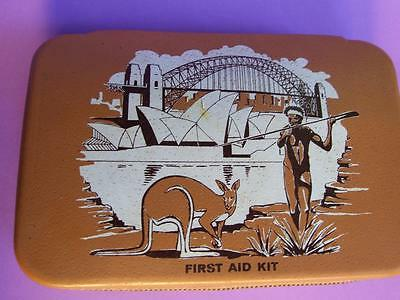 Vintage  Australian First Aid Kit Collectables From 1960's