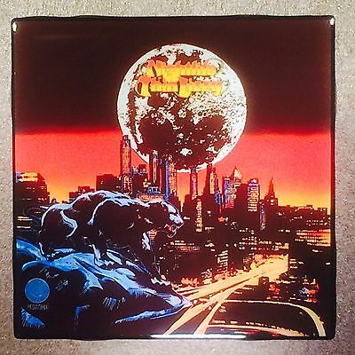 THIN LIZZY Nightlife Ceramic Tile Coaster Record Cover