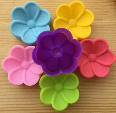 2 Frangipani Flower Silicone Mould Chocolate Melts  Guest SOAP Cup Cake Muffins