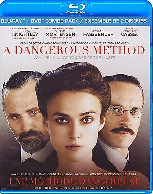 A Dangerous Method (Cronenberg) - With Slipcover *New Blu-Ray/Dvd Combo*