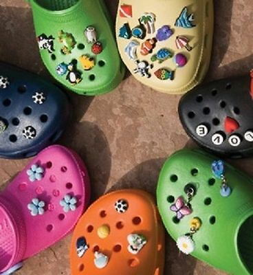 NEW Crocs Jibbitz Shoe Charms Girls Frozen Star Wars Yoda Elsa Anna Olaf TMNT ++