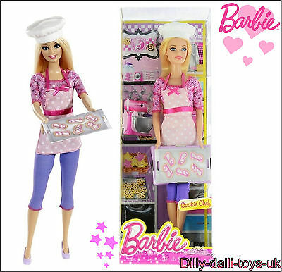 NEW & Sealed BARBIE I can Be A Chef Baker Cook Exclusive Outfit Careers Doll