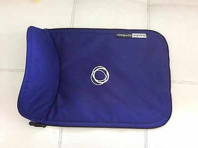 New Bugaboo Cameleon Stroller Bassinet Apron Blue Canvas Baby Carry Cot Cover