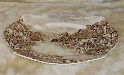 Vintage Johnson Brothers English Countryside 12 inch Serving platter Engiand