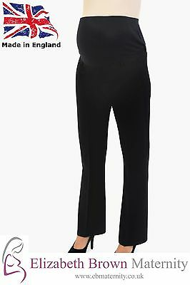 Stretch Tailored Maternity Trousers SHORT PETITE 18-20 22-24 26-28 PLUS SIZE
