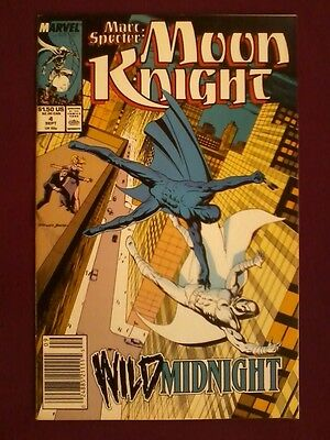 Marc Spector Moon Knight #4 (1989) Marvel Comics