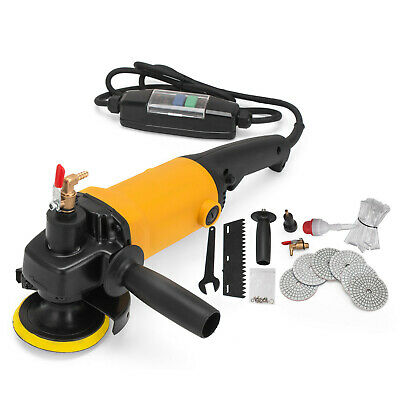 "4"" Variable Speed Wet Polisher For Granite Marble Concrete Stones 220-240v"