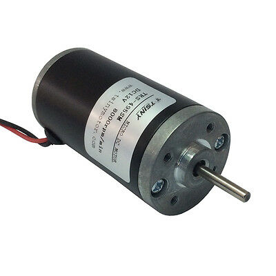 DC 12V 8000Rpm Small Brushed Micro Electric Motor Ultra High Speed for DIY Parts