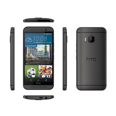 BLACK Unlocked HTC One M9 20.0 MP - 4G LTE Android OS 32GB Smart Phone